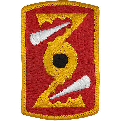 72nd Field Artillery Brigade Class A Patch