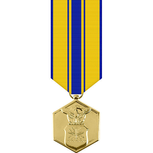 Air Force Commendation Anodized Miniature Medal