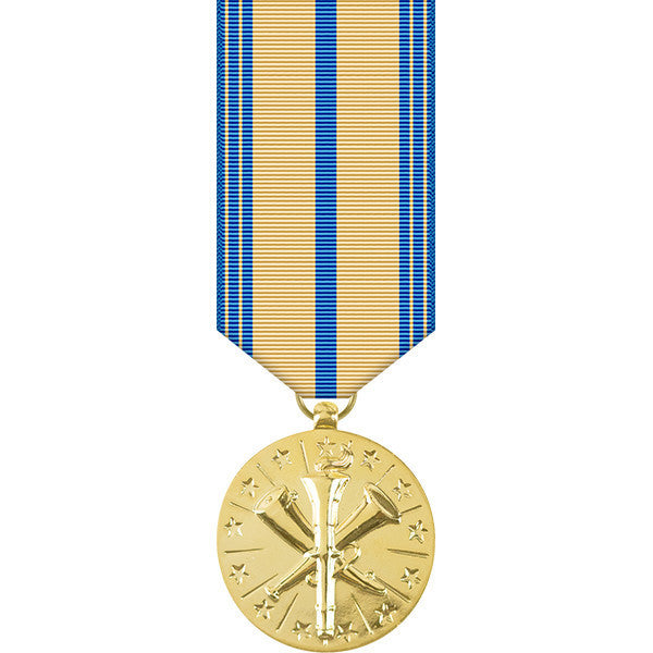 Armed Forces Reserve Anodized Miniature Medal - Army Version