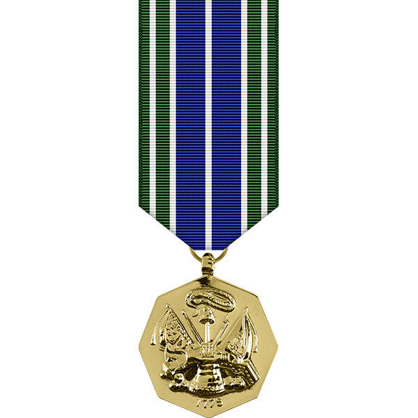 Army Achievement Anodized Miniature Medal