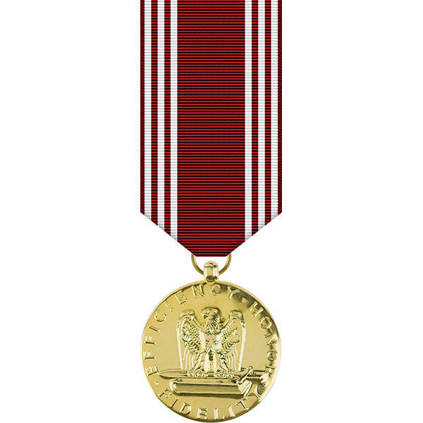 Army Good Conduct Anodized Miniature Medal