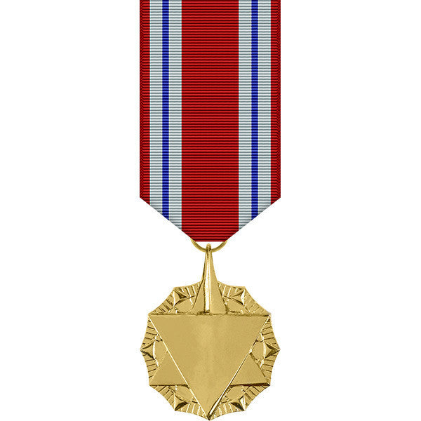 Combat Readiness Anodized Miniature Medal