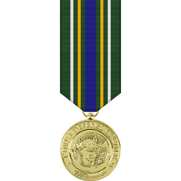 Korea Defense Service Anodized Miniature Medal