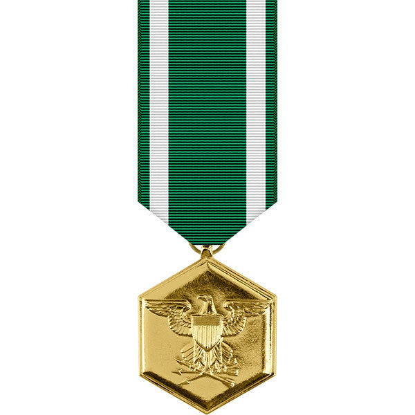 Navy & Marine Corps Commendation Anodized Miniature Medal