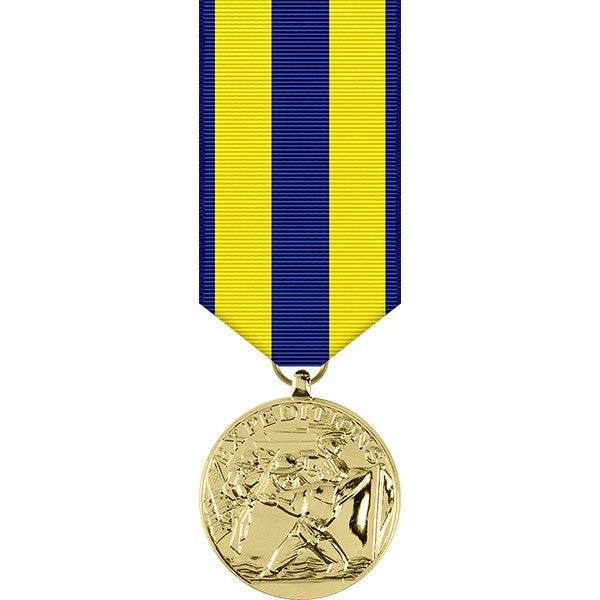 Navy Expeditionary Anodized Miniature Medal