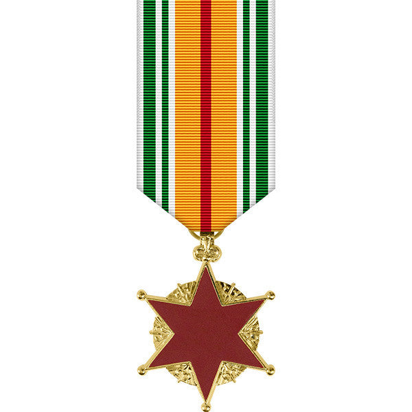 Republic of Vietnam Wound Anodized Miniature Medal