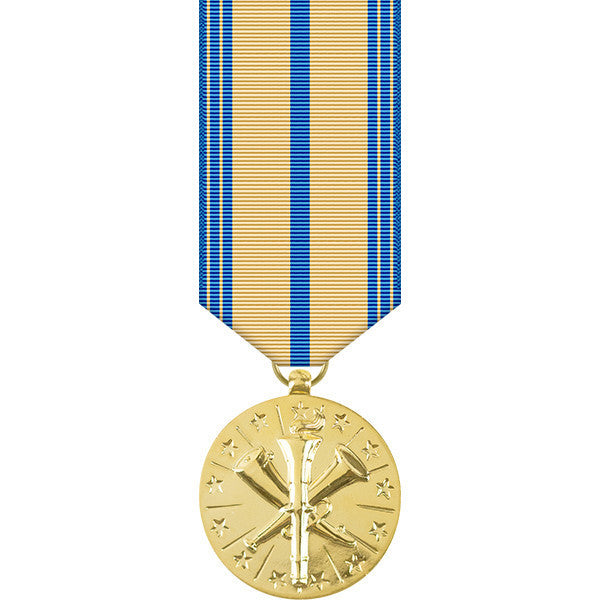 Armed Forces Reserve Anodized Miniature Medal - Air Force Version