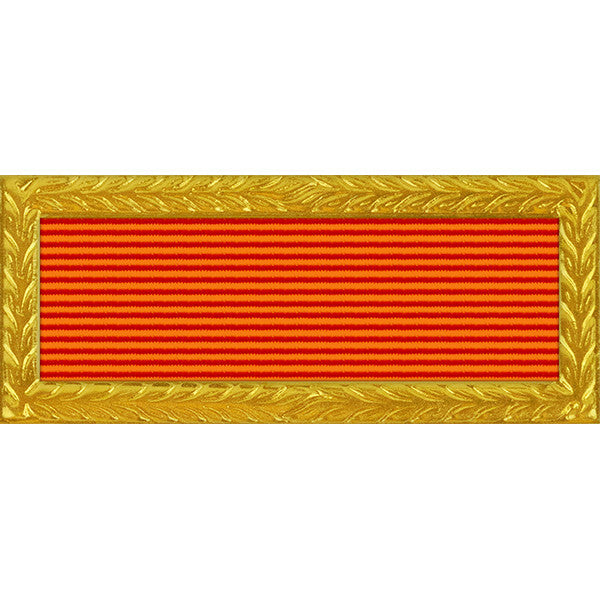 Florida National Guard Governor's Meritorious Unit Citation (with Gold Frame)