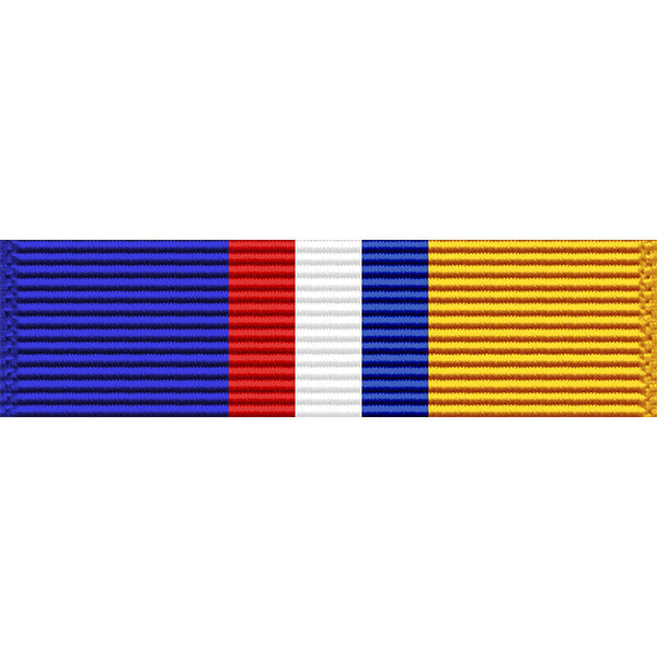 Louisiana National Guard Commendation Medal Ribbon