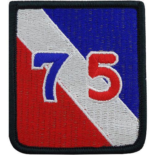 75th Infantry Division Class A Patch