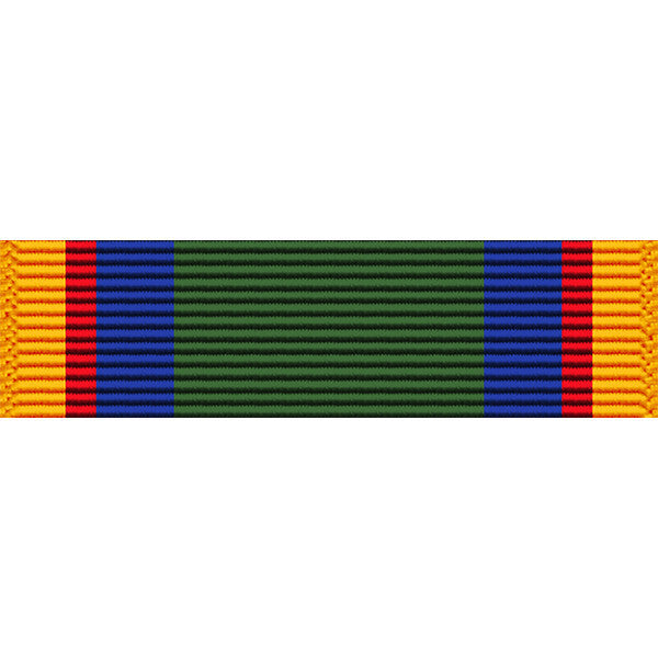 Texas National Guard Federal Service Medal Ribbon