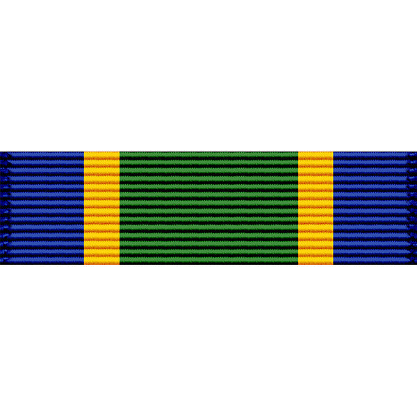 Montana National Guard Distinguished Service Medal Ribbon