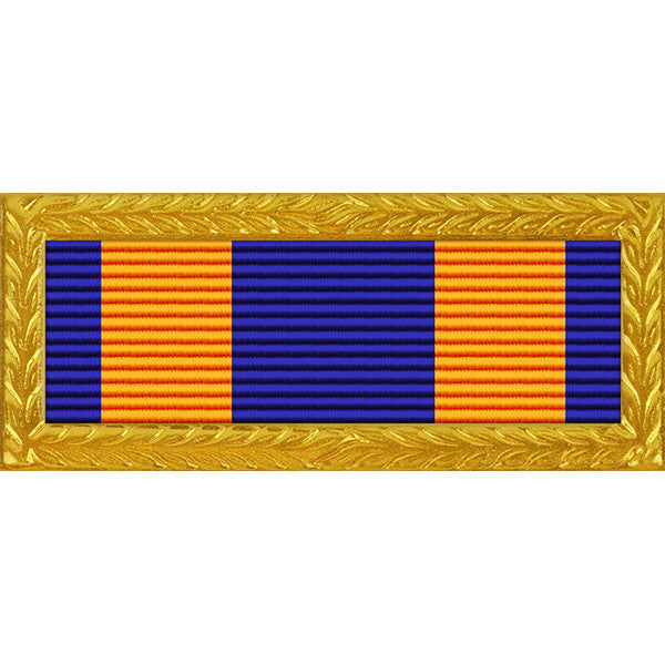 Oregon National Guard Superior Unit Ribbon (with Gold Frame)