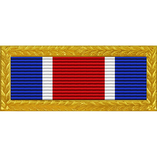 Texas National Guard Governor's Unit Citation Ribbon (with Gold Frame)