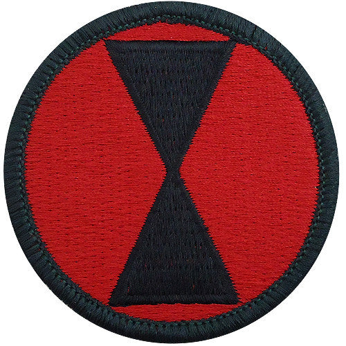 7th Infantry Division Class A Patch