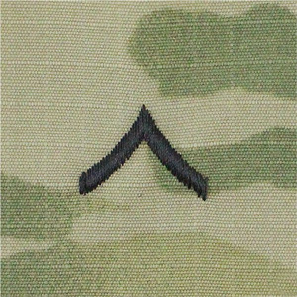Army MultiCam (OCP) Sew-On Patrol Cap Rank - Officer and Enlisted