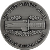 U.S. Army Combat Action Badge Coin
