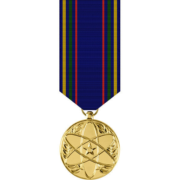 Air Force Nuclear Deterrence Operations Anodized Miniature Medal