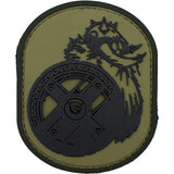 Viking Berserker PVC Patch - Multicam