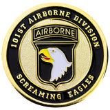 U.S. Army 101st Airborne Division Coin
