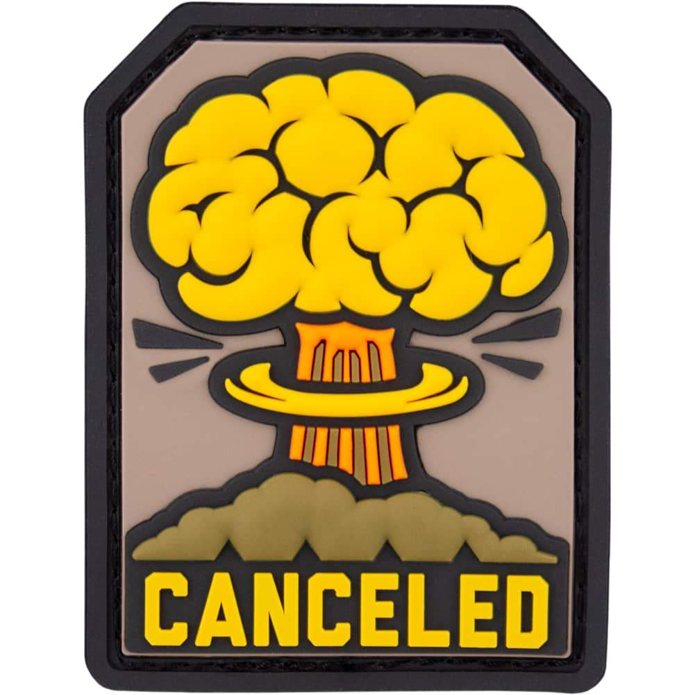 Canceled PVC Patch