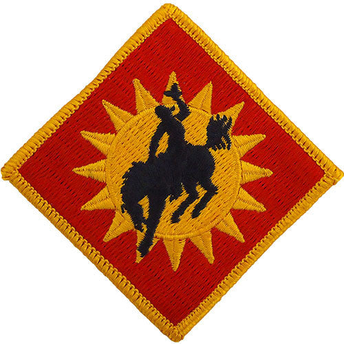 115th Field Artillery Brigade Class A Patch