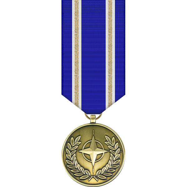 NATO Article 5 Active Endeavour Miniature Medal