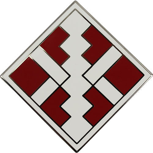 411th Engineer Brigade Combat Service Identification Badge