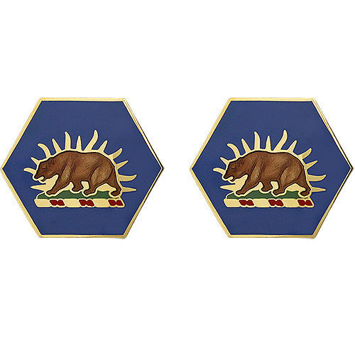 California National Guard Unit Crest (No Motto)