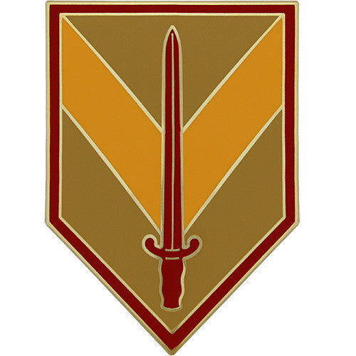 1st Sustainment Brigade Combat Service Identification Badge