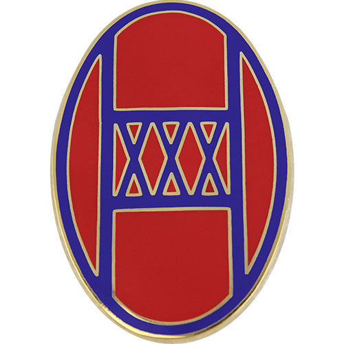 30th Armored Brigade Combat Service Identification Badge