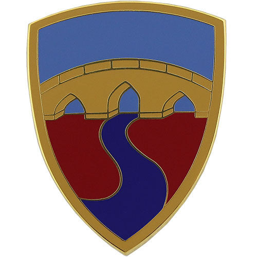 304th Sustainment Brigade Combat Service Identification Badge