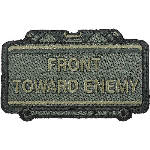Front Toward Enemy Claymore ACU Patch