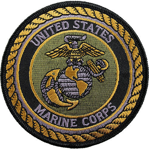 Globe and Anchor Subdued Patch