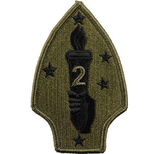 2nd Marine Division Subdued Patch