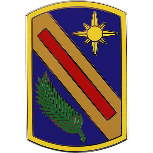 321st Sustainment Brigade Combat Service Identification Badge