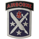 95th Civil Affairs Brigade With Airborne Tab Combat Service Identification Badge