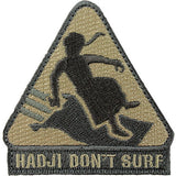 Hadji Don't Surf ACU Patch