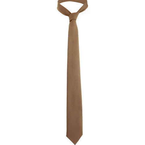 4-In-Hand Extra Long Khaki Tie
