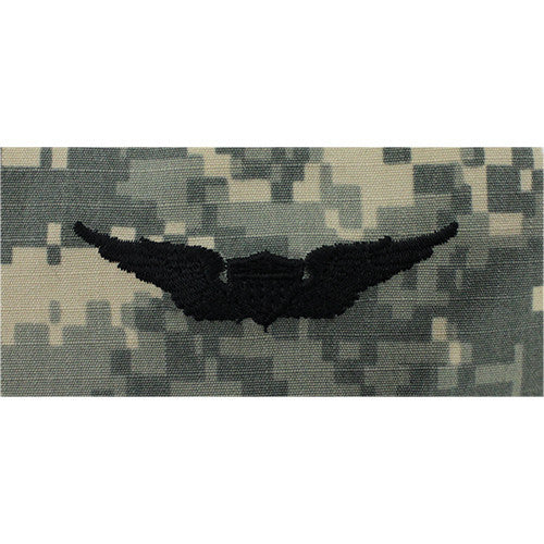 Army Aviator Embroidered ACU Badge