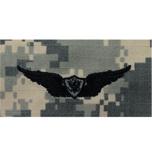 Army Basic Aviation (Aircraft Crewman) Embroidered ACU Badge