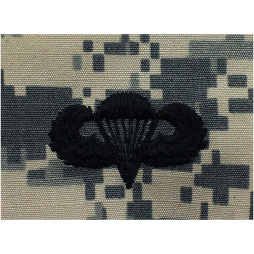 Army Basic Parachutist Embroidered ACU Badge