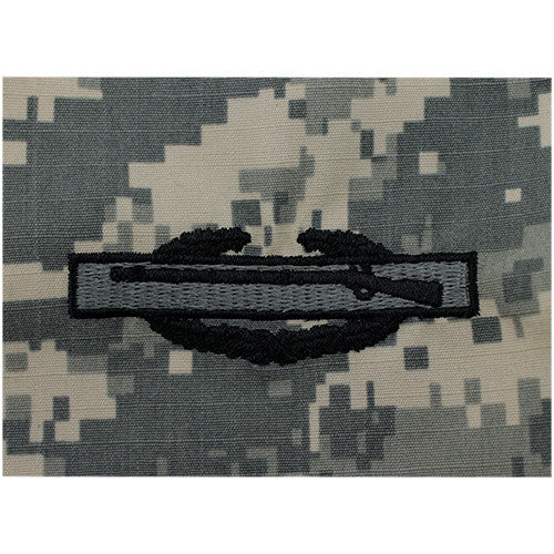 Army Combat Infantry Embroidered ACU Badge