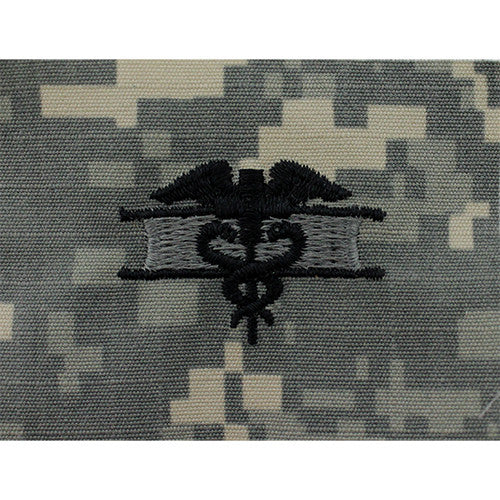 Army Expert Field Medical Embroidered ACU Badge