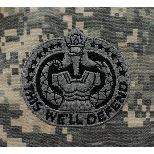 Army Drill Sergeant Identification Embroidered ACU Badge