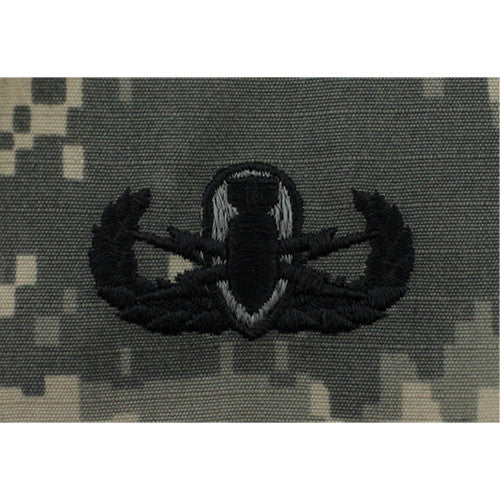 U.S. Army Basic Explosive Ordnance Disposal (EOD) Badge - ACU Embroidered