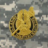 U.S. Army Master Recruiter Badge - ACU Embroidered