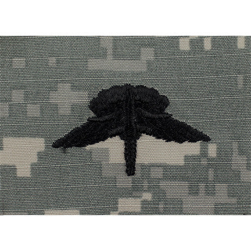 Military Free Fall Parachute Embroidered ACU Badge