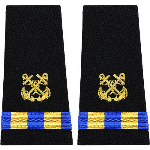 Navy Soft Shoulder Mark WO-2 Boatswain