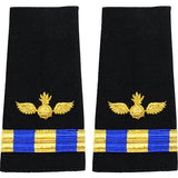 Navy W-3 Soft Shoulder Marks - Aviation Ordnance Technician